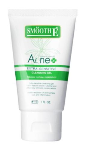 Smooth É Smooth E Acne Extra Sensitive Cleansing Gel