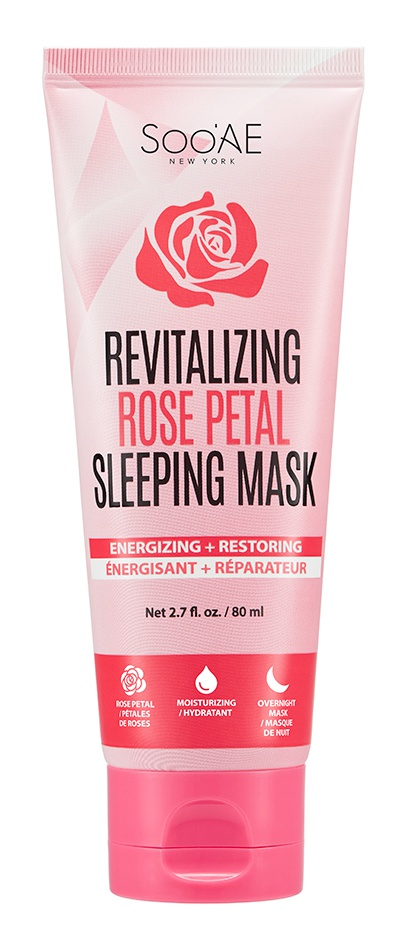 Soo AE Revitalizing Rose Petal Sleeping Mask