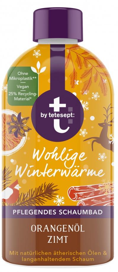 Tetesept Bath Cream Winter - Schaumbad Wohlige Winterwärme