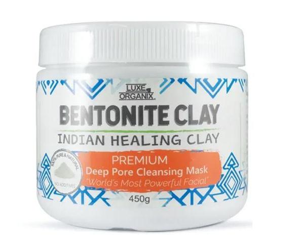 Luxe Organix Bentonite Indian Healing Clay