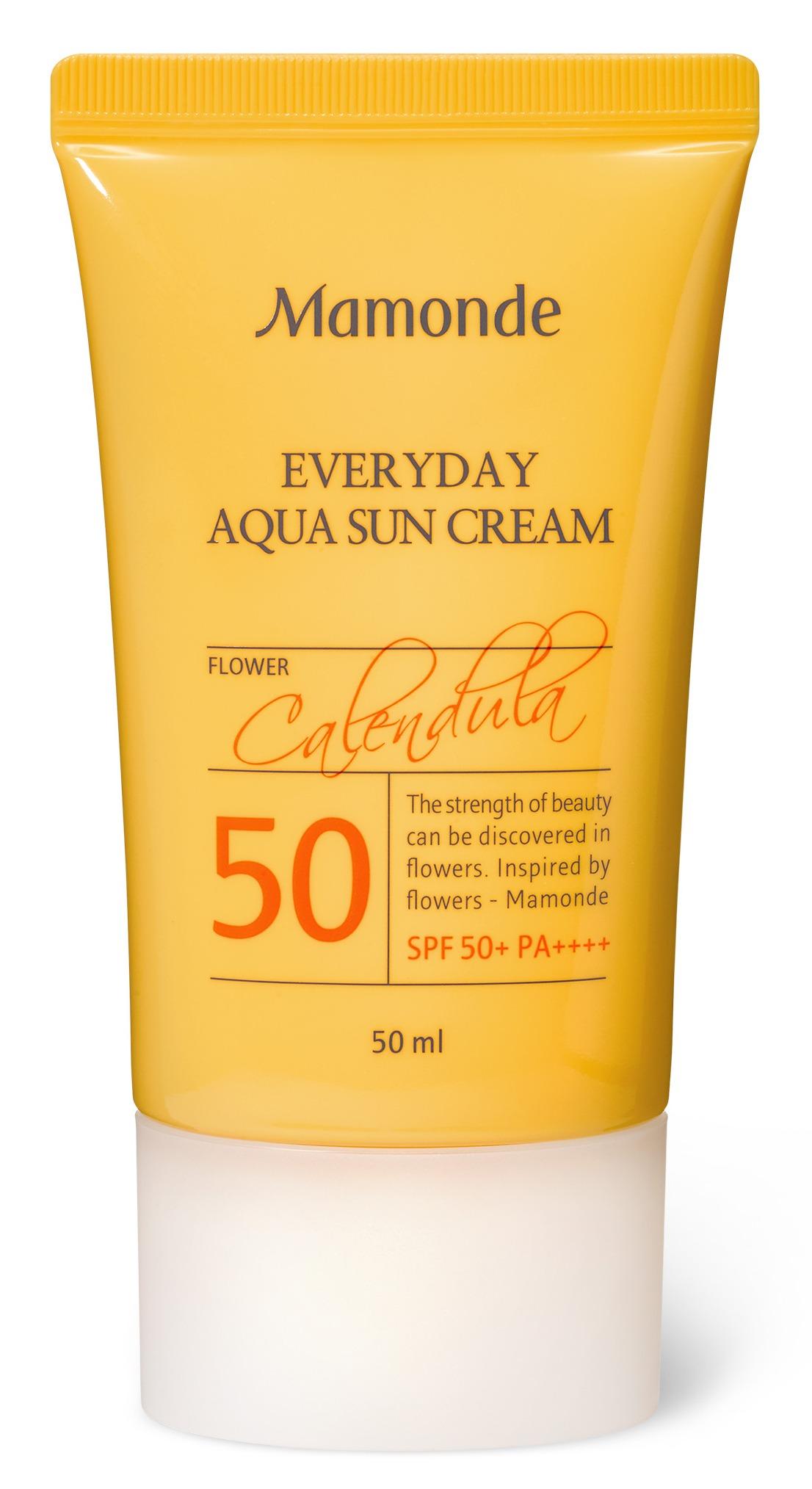 Mamonde Everyday Aqua Sun Cream SPF 50+