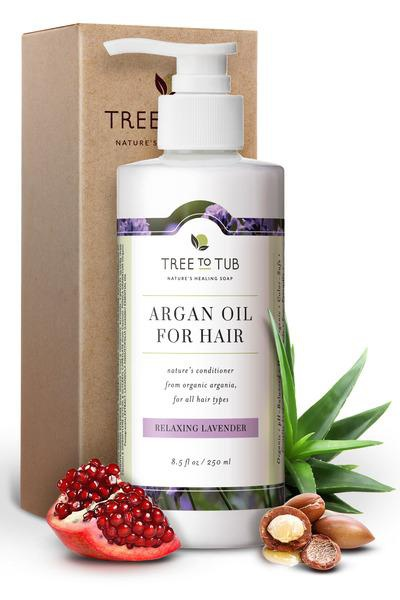 Tree to Tub Argan Oil Condition Relaxing Lavendar