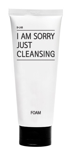 B-Lab I Am Sorry Just Cleansing Cleansing Foam