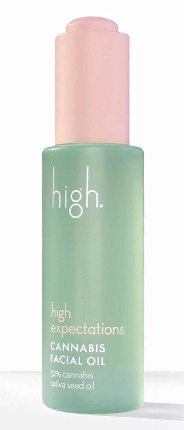 High Beauty High Expectations Cannabis Facial Seed Oil