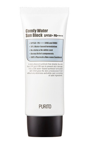 Purito Comfy Water Sunblock Spf50+ Pa++++ (Unscented)