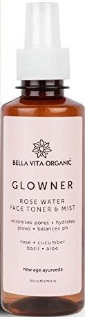 Bella Vita Organic Glowner Face Toner Face Mist
