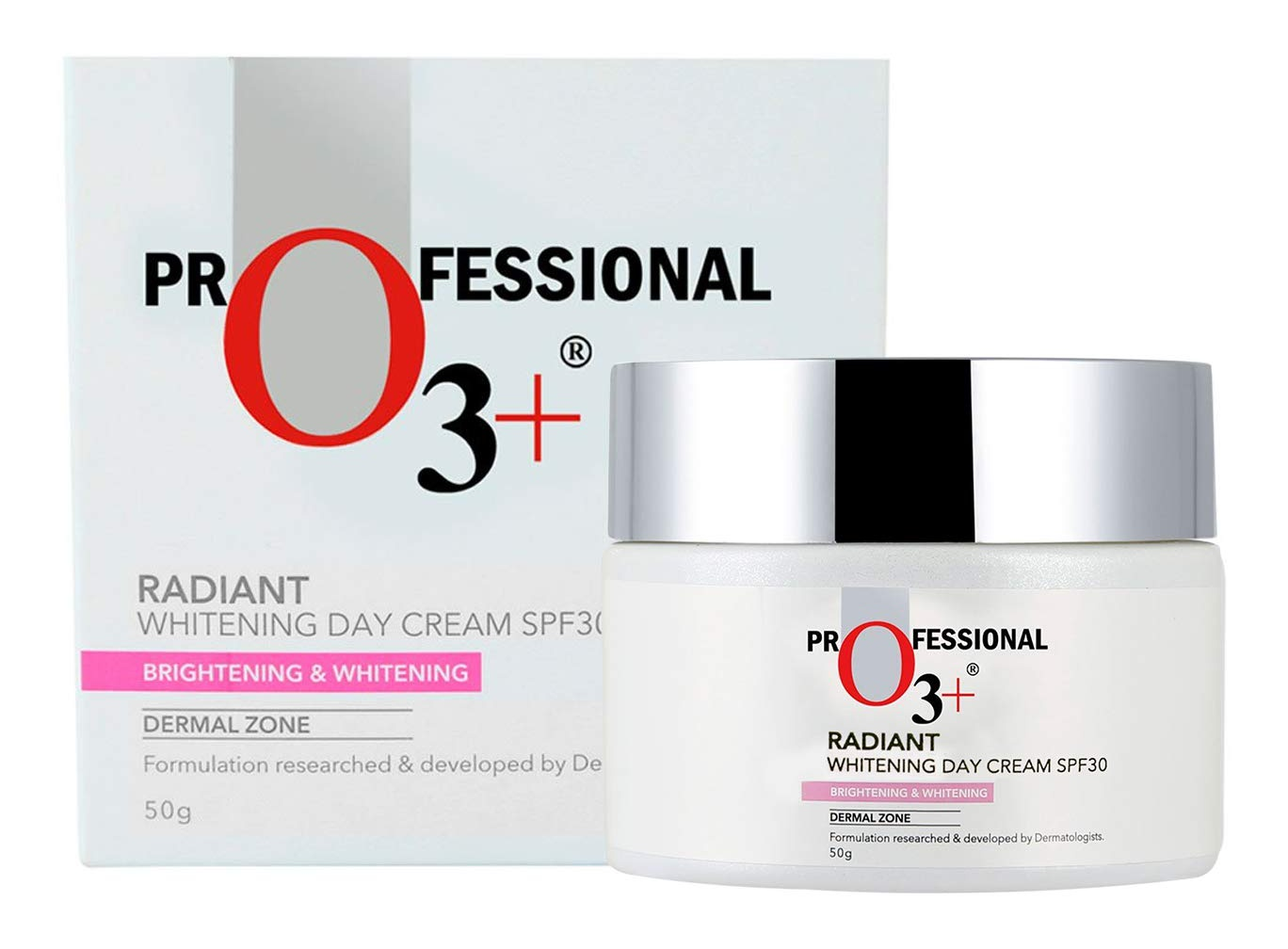 o3+ Radiant Whitening Day Cream