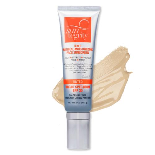 "Suntegrity ""5 In 1"" Natural Moisturizing Face Sunscreen, Broad Spectrum Spf 30"