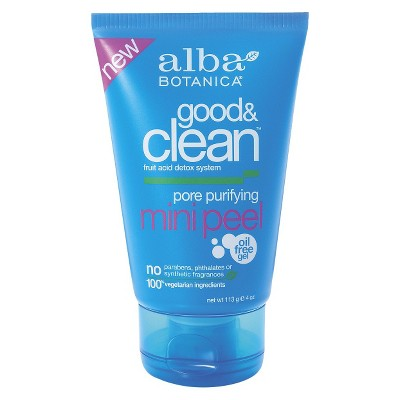 Alba Botanica Good & Clean Pore Purifying Mini Peel