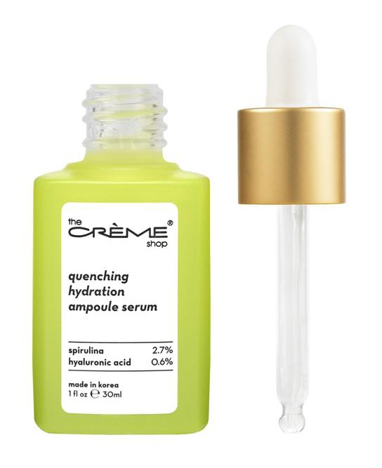 The Creme Shop Quenching Hydration Ampoule Serum - Crèmecoction Spirulina + Hyaluronic Acid