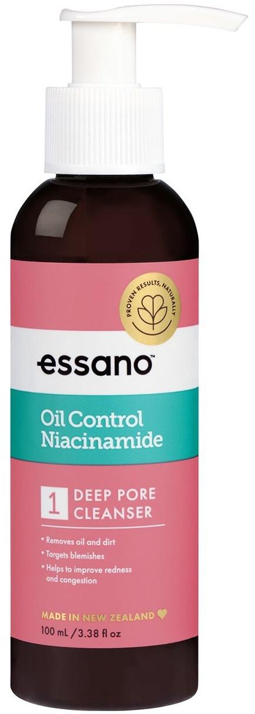 Essano Oil Control Niacinamide Deep Pore Cleanser