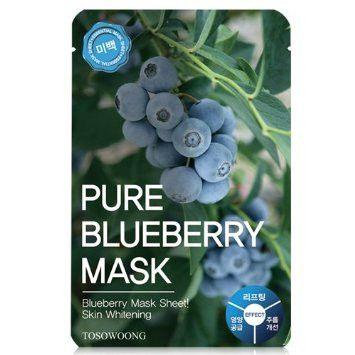 Tosowoong Pure Blueberry Mask