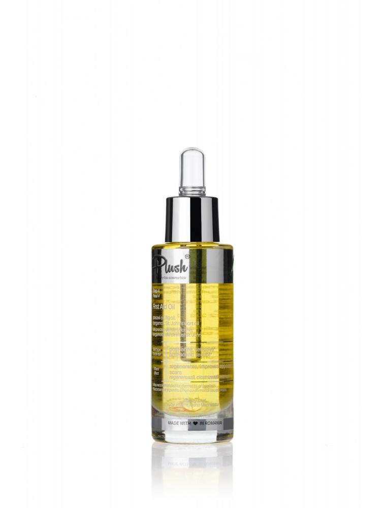 Plush Bio First Aid Oil - Regenerating Face Oil