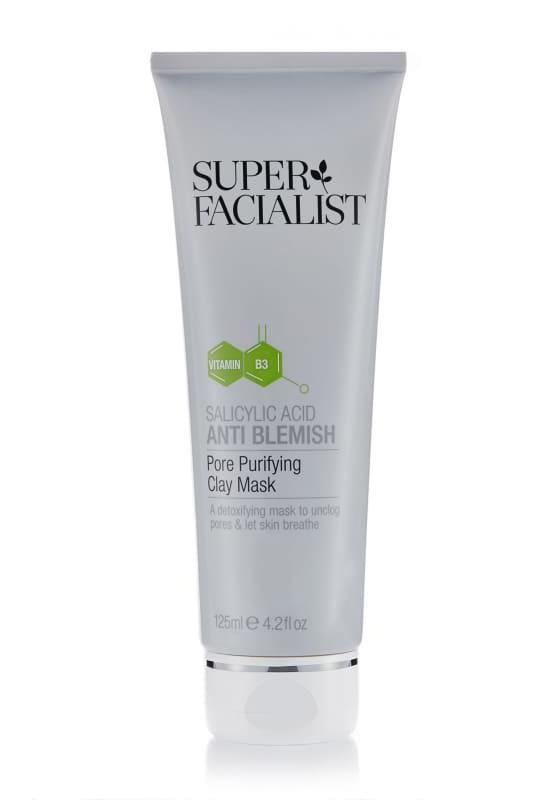 Super Facialist Salicylic Acid Anti Blemish Pore Purifying Clay Mask