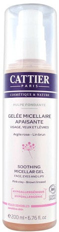 Cattier Pulpe Fondante Soothing Micellar Gel
