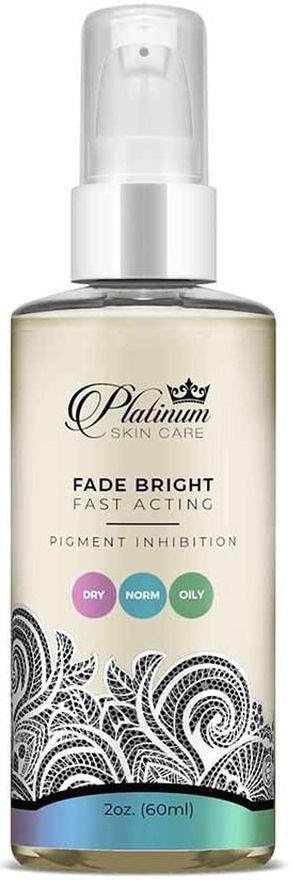 Platinum Skin Care Fade Bright Skin Lightening