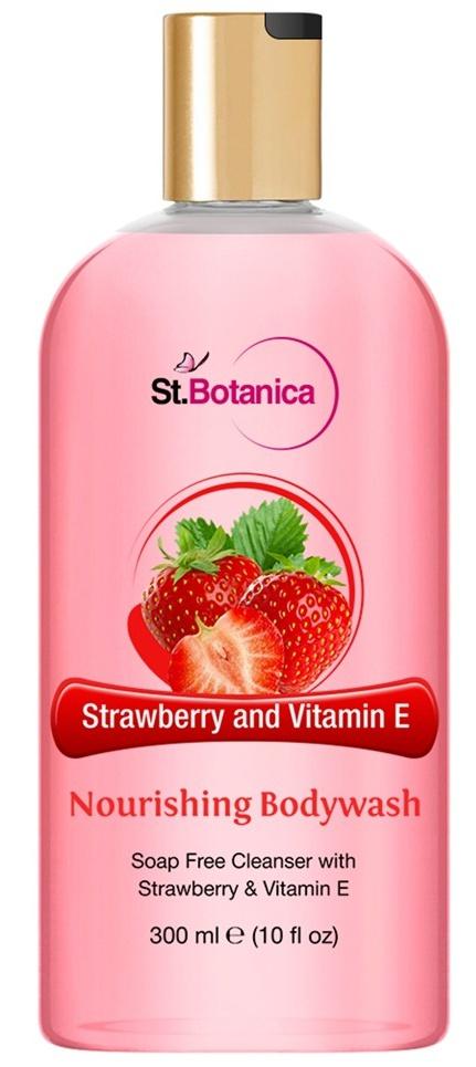 St. Botanica Strawberry and vitamin E nourishing Body Wash