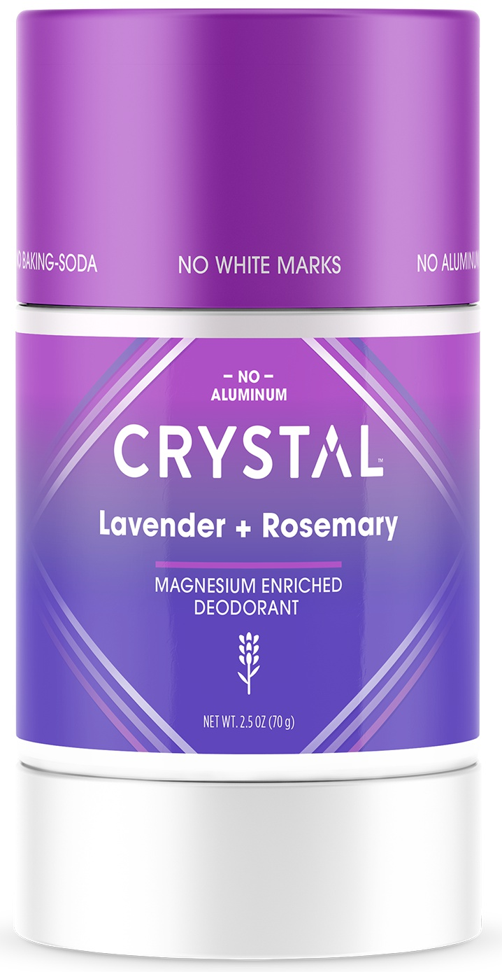 CRYSTAL Magnesium Enriched Deodorant Lavender + Rosemary