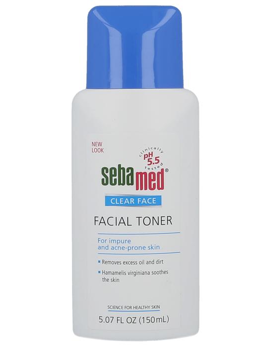 Seba Med Clear Face-Facial Toner-Deep Cleanser