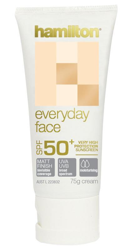 Hamilton Everyday Face SPF 50+