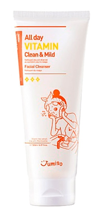 JUMISO All Day Vitamin Clean & Mild Facial Cleanser