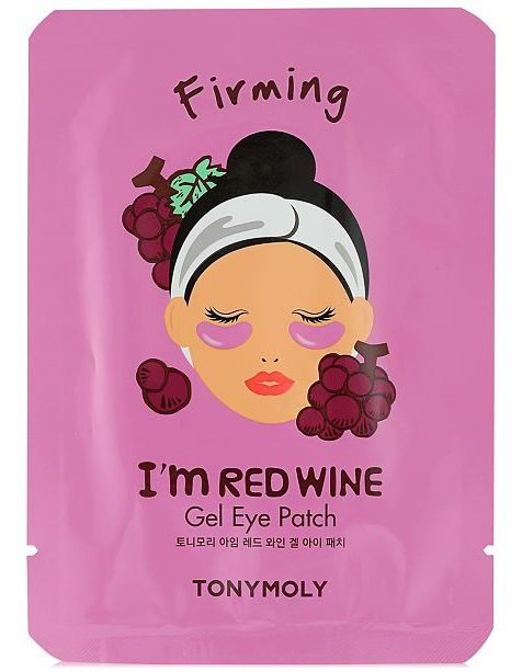 TonyMoly I'M Red Wine Gel Eye Mask