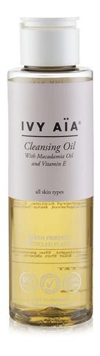 Ivy Aïa Cleansing Oil With Macadamia Oil & Vitamin E