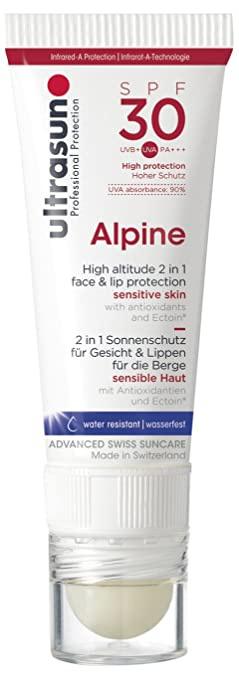 Ultrasun Alpine Face & Lip Spf30 - 2 In 1