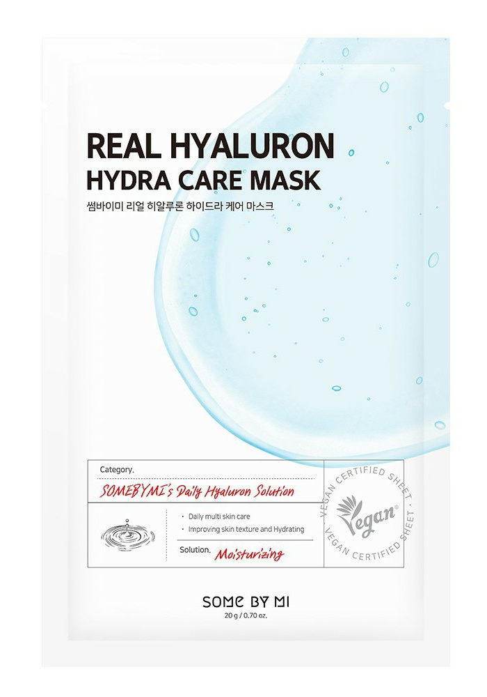 Some By Mi Real Hyaluron Hydra Care Mask