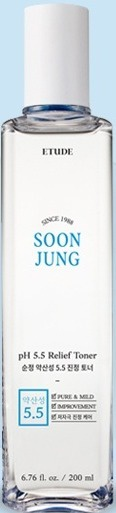 Etude House Soonjung Ph 5.5 Relief Toner 21 AD