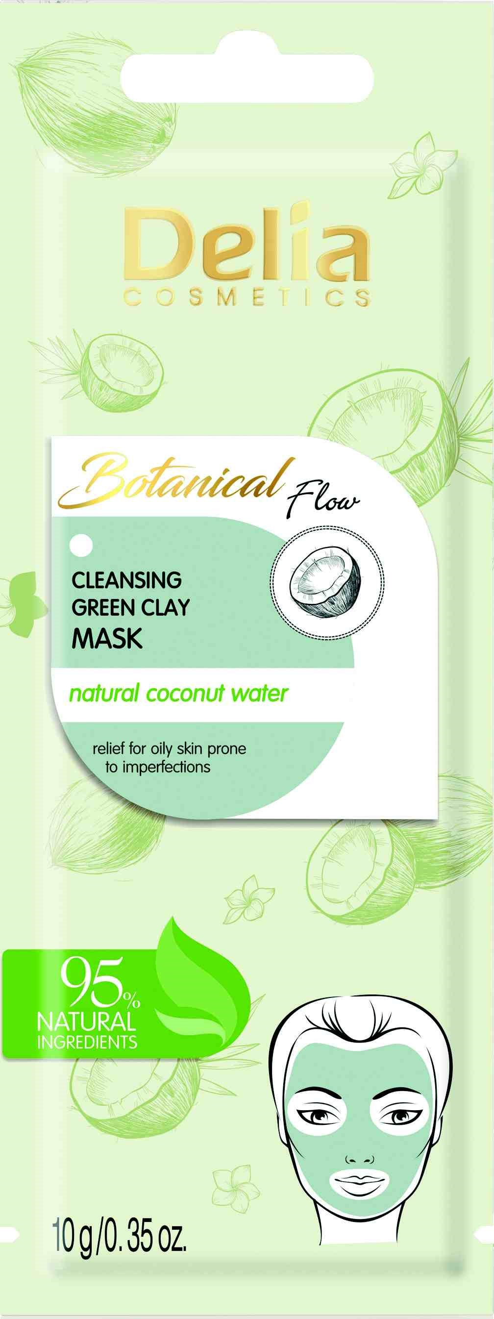 Delia Botanical Flow Cleansing Green Clay Mask