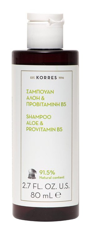 Korres Aloe & Provitamin B5 Shampoo