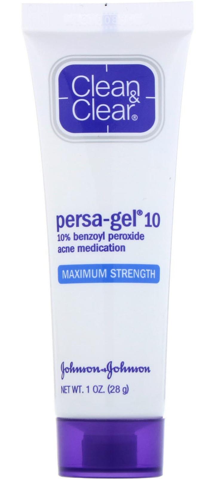Clean & Clear Persa-Gel 10, Maximum Strength