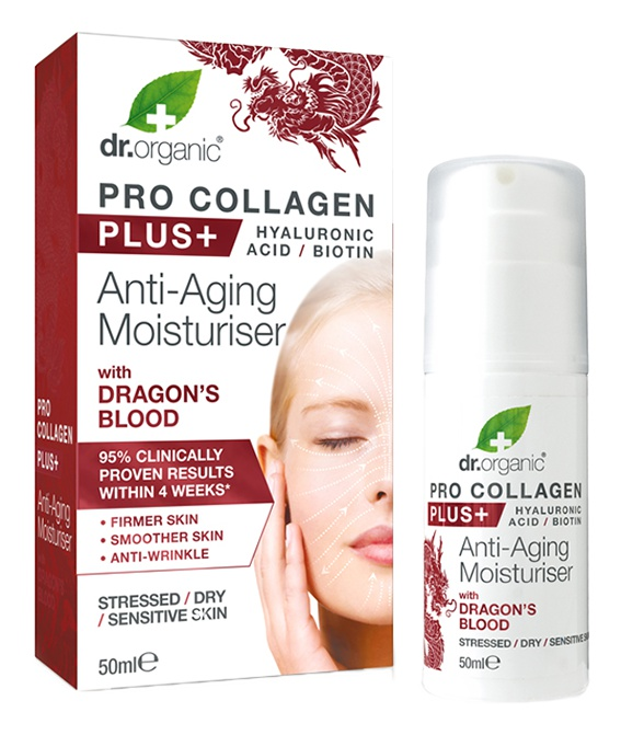 Dr Organic Pro Collagen+ Anti-Aging Moisturiser With Dragon'S Blood