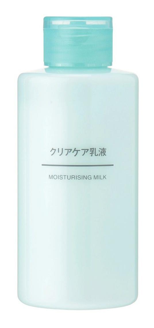 Muji Moisturizing Milk Clear Care Series
