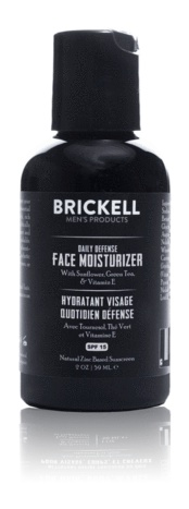 Brickell Men's Products Daily Defense Face Moisturizer For Men