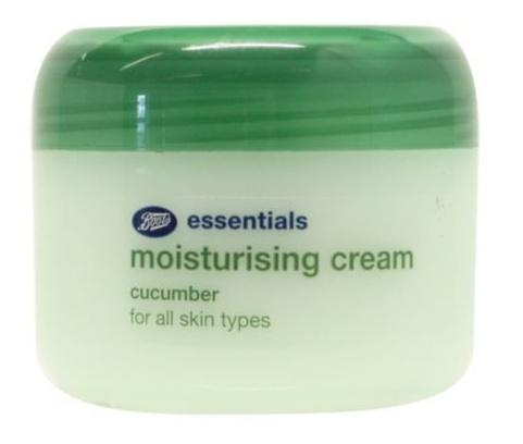 Boots Essentials Moisturising Cream Cucumber