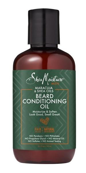 Shea Moisture Maracuja & Shea Oils Beard Conditioning Oil