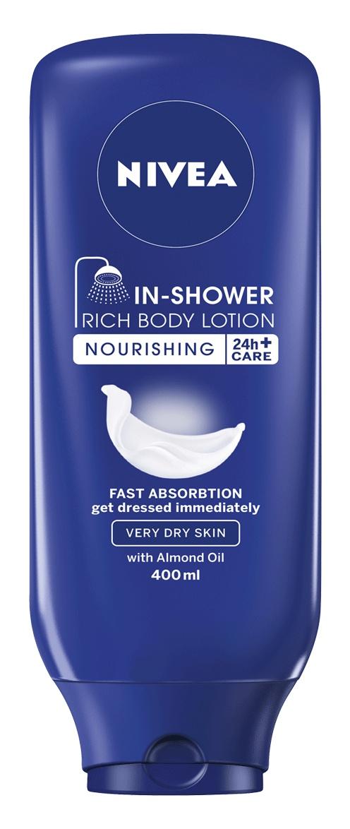 Nivea In Shower Rich Body Lotion Skin Conditioner
