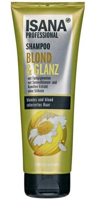 Isana Professional Shampoo Blond & Glanz