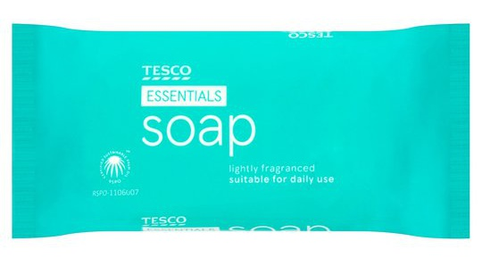 Tesco Essentials Soap
