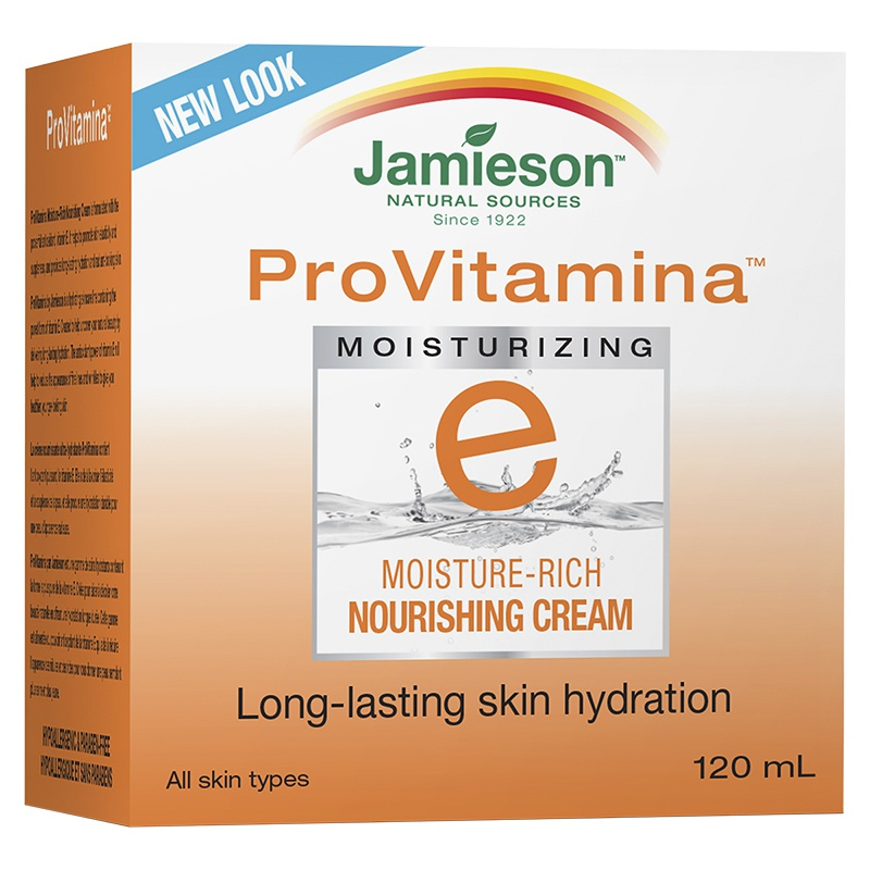 Jamieson Provitamina Moisture Rich Vitamin E Moisturizing Cream
