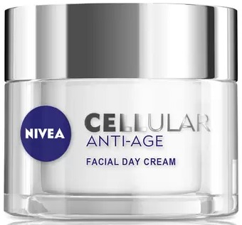 Nivea Spf15 Cellular Anti-Age Skin Rejuvenation Facial Day Cream