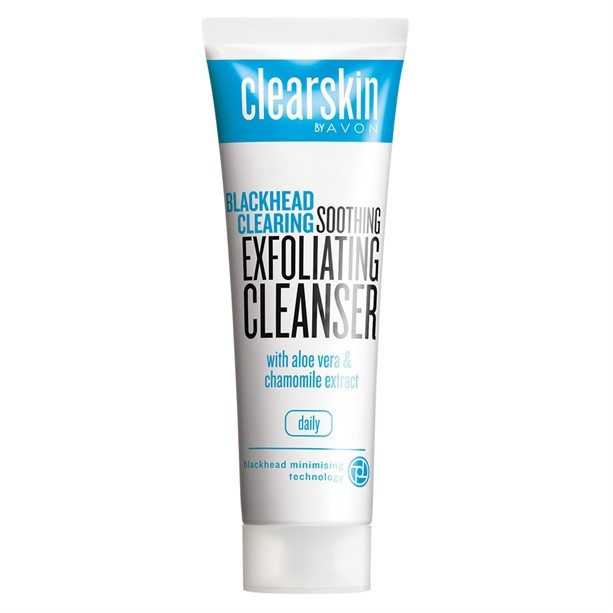 clearskin by avon Blackhead Clearing Soothing Exfoliating Cleanser