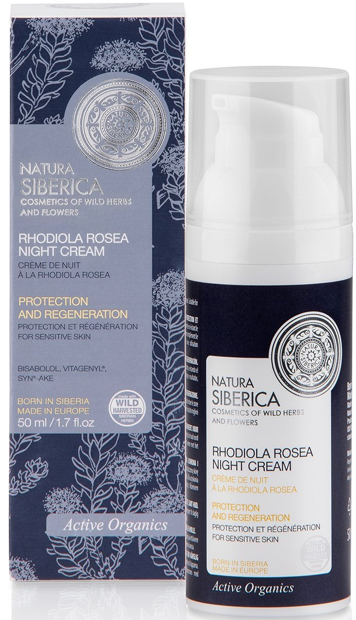 Natura Siberica Rhodiola Rosea Night Cream
