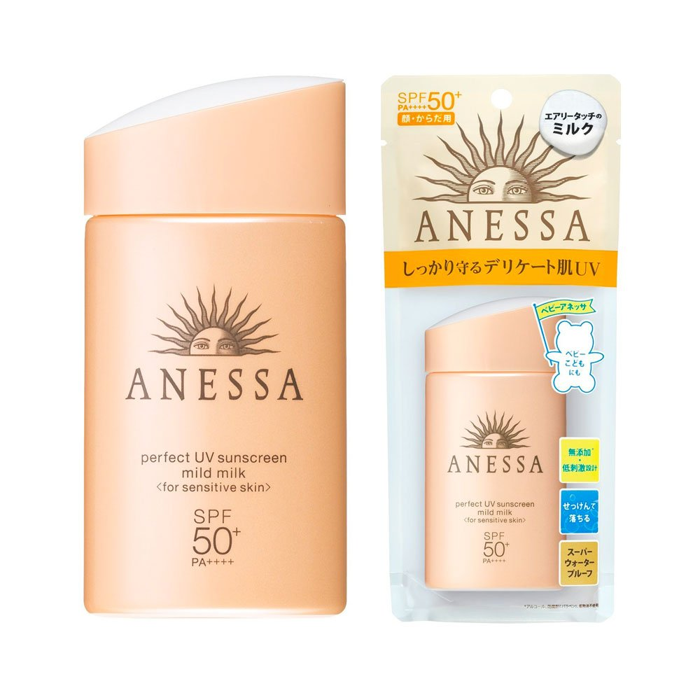 Anessa Perfect UV Sunscreen Mild Milk Spf50+ Pa++++
