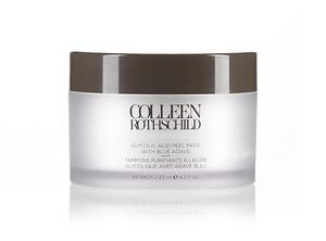 Colleen Rothschild Glycolic Acid Peel Pads With Blue Agave