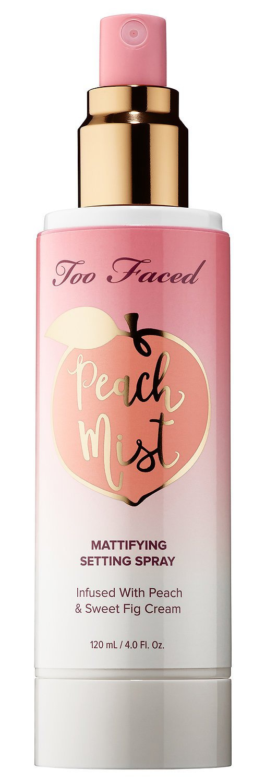 Too Faced Peach Mist Mattifying Setting Spray
