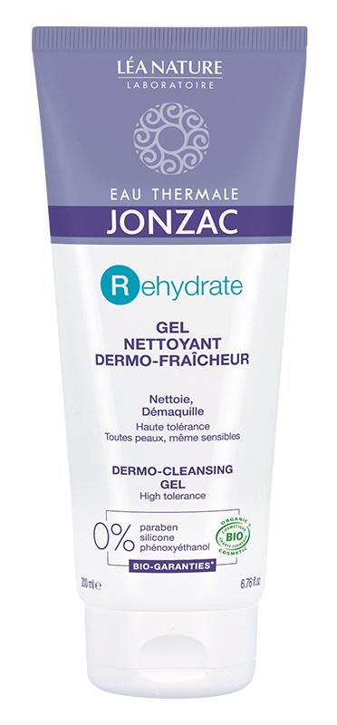 JONZAC EAU THERMALE Gel Nettoyant Dermo-Fraîcheur