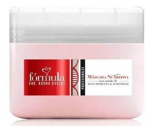 Formula Dra Norma Bustos Máscara Nutritiva Con Aceite De Rosa Mosqueta Y Almendras